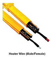 Heater Wire (Male - Female)