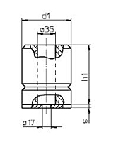 Lift Buffers with Steel Plate - 2